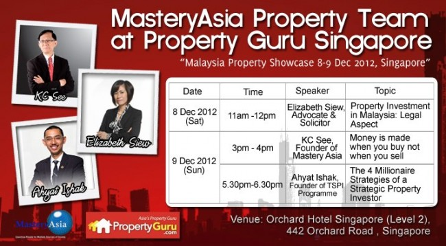 Malaysia Property Showcase in Singapore Orchard Hotel