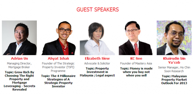 Malaysia Property Showcase 2012 at Singapore Orchard Hotel